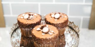 Coronado Coffee Malted Milk Chocolate Cupcakes