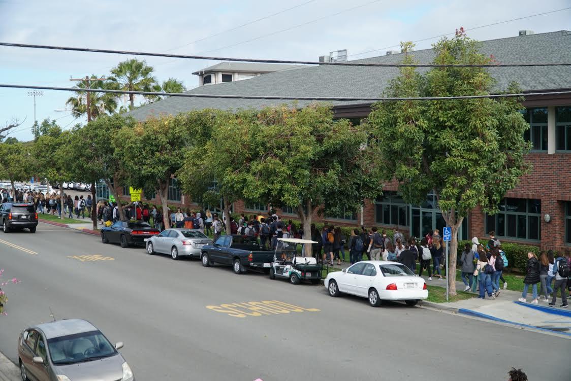 National Walkout in Coronado