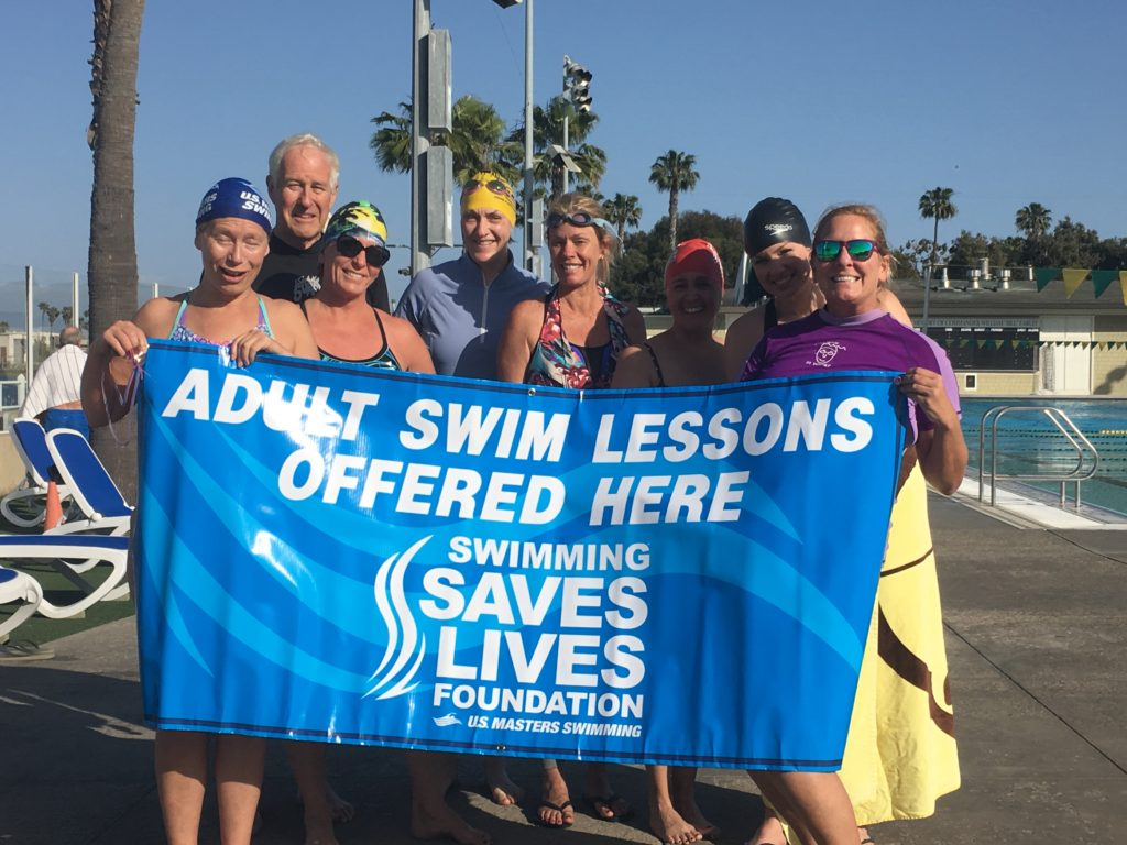 Adult Swim Lessons - Swimming Saves Lives
