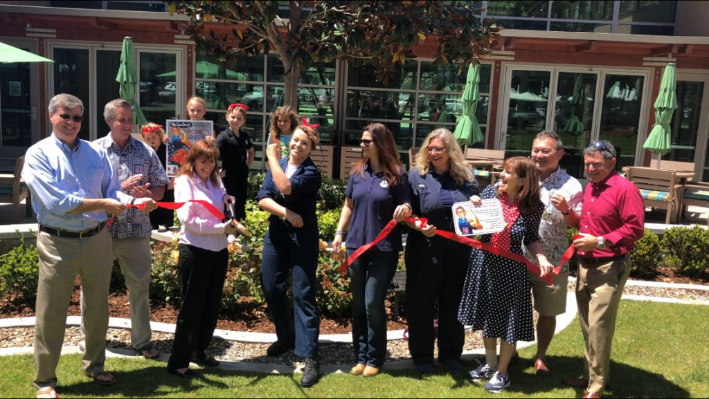 Ribbon Cutting for Rosie the Riveter Rose Garden