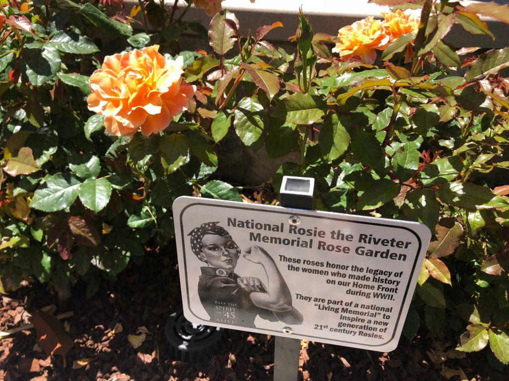Rosie the Riveter Rose Garden