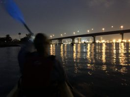 Full Moon Group Paddle