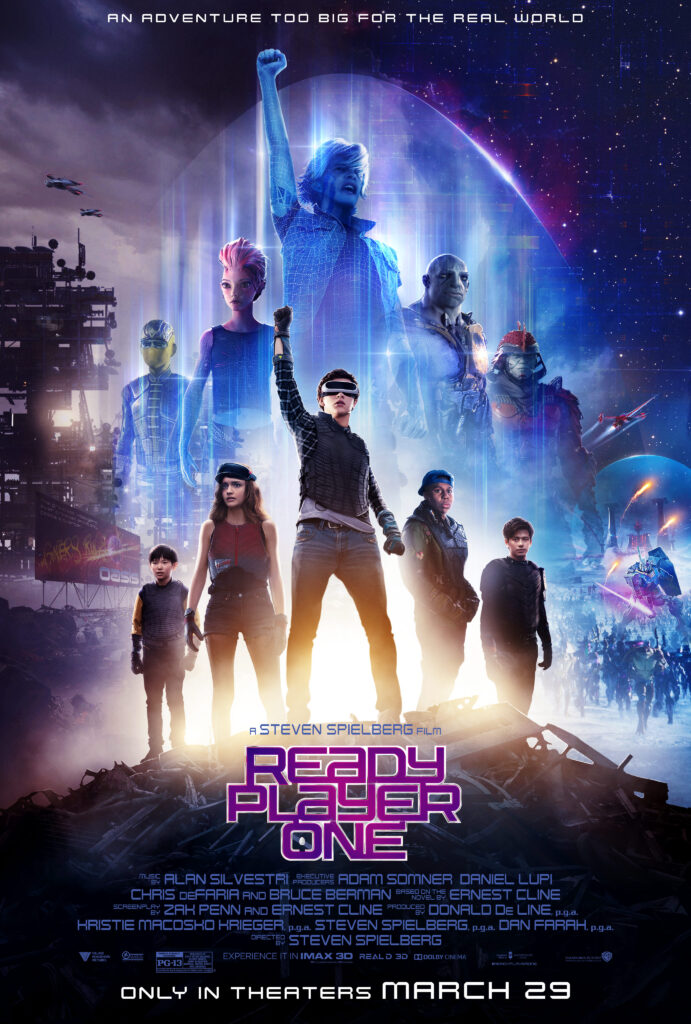Ready Player One Official Movie Poster