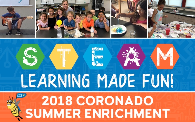STEAM Coronado Summer Enrichment