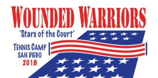 Wounded Warriors Tennis Camp