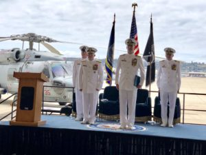 Change of Command, Helicopter Maritime Strike Wing Pacific