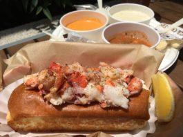 Lobster West Lobster Roll