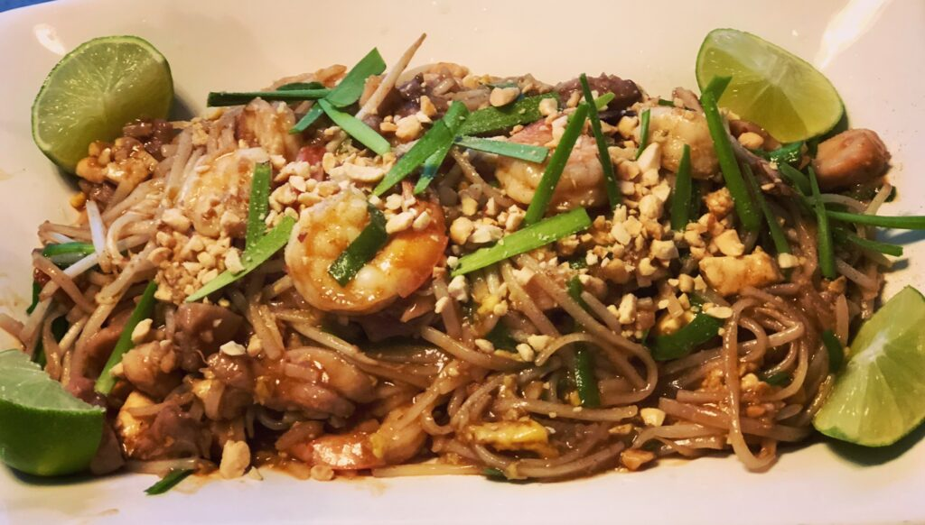 Recipe Chicken And Prawn Pad Thai Coronado Times