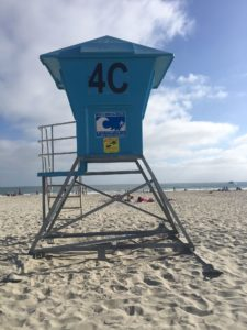lifeguard tower image: city of Coronado