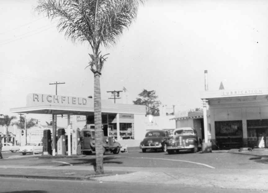 old photo of where McP's is now