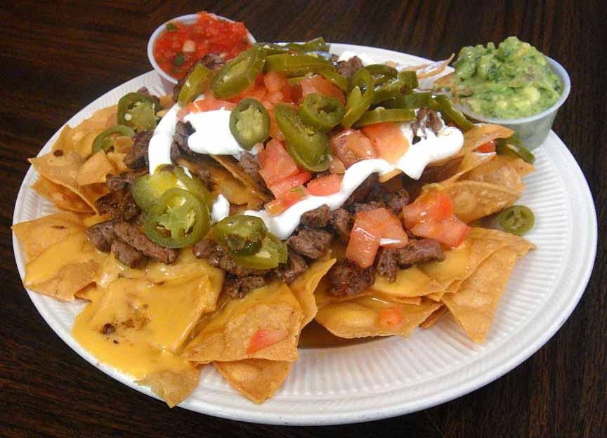 McP's Irish Pub nacho platter