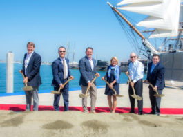 Port of San Diego and The Brigantine, Inc. celebrate ceremonial groundbreaking for Portside Pier on the North Embarcadero