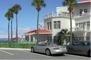 Hotel Del Master Plan rendering