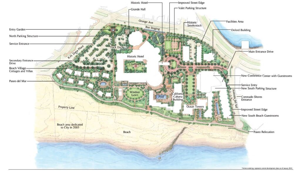 Improvements at The Del - Implementing the Master Plan | Coronado Times