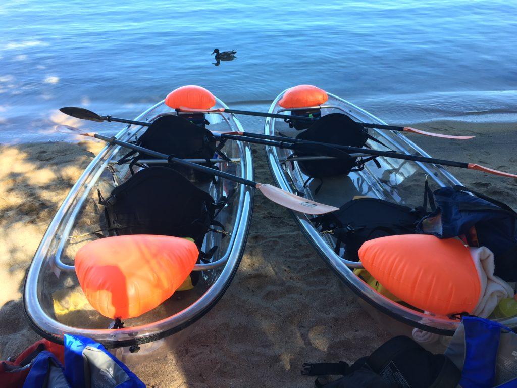 Clearly Tahoe Kayaks