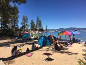 Sand Harbor Beach, Tahoe