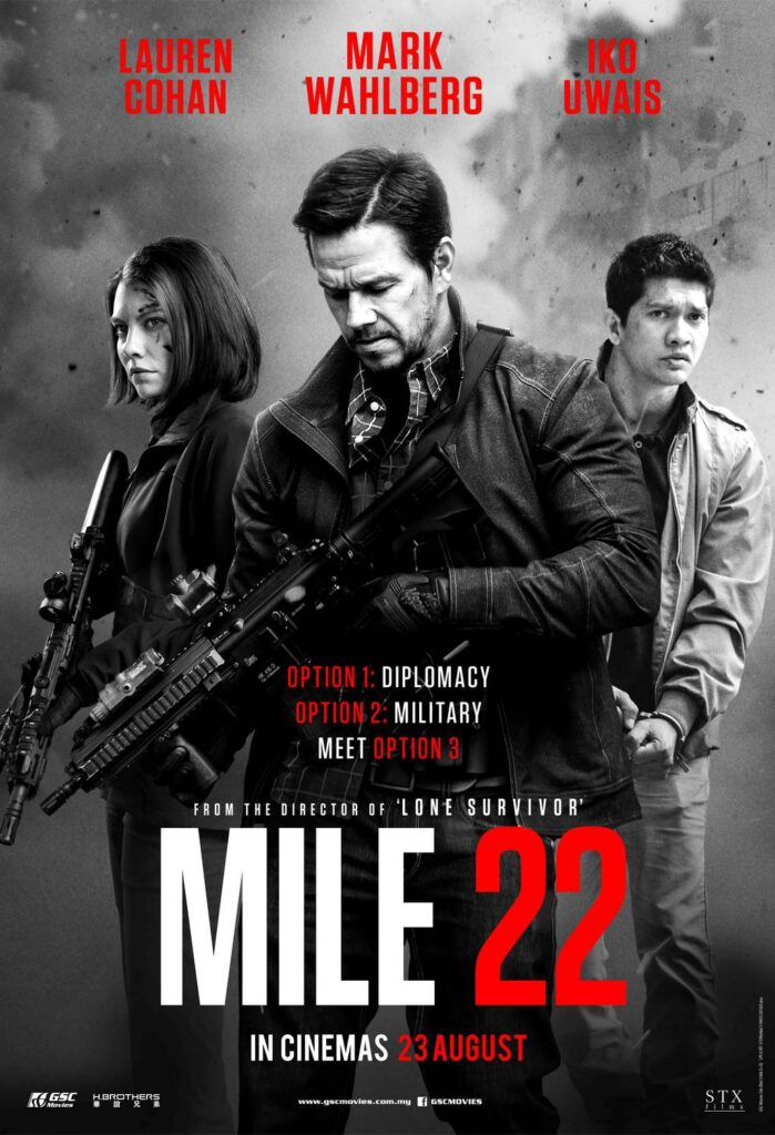 """Mile 22"" is Beyond Action Packed 