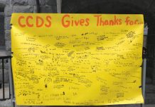 CCDS thankfulness