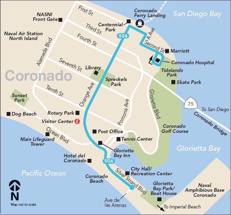 Free Shop Local Shuttle map