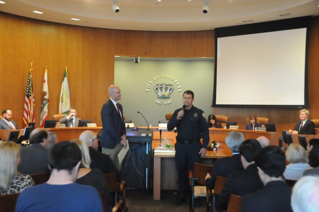 Mayor Richard Bailey, Eric Hingeley