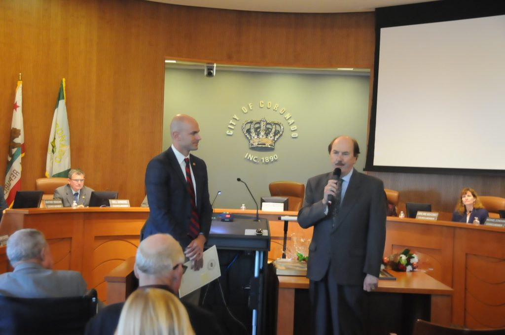 Mayor Richard Bailey, Christian Esquevin