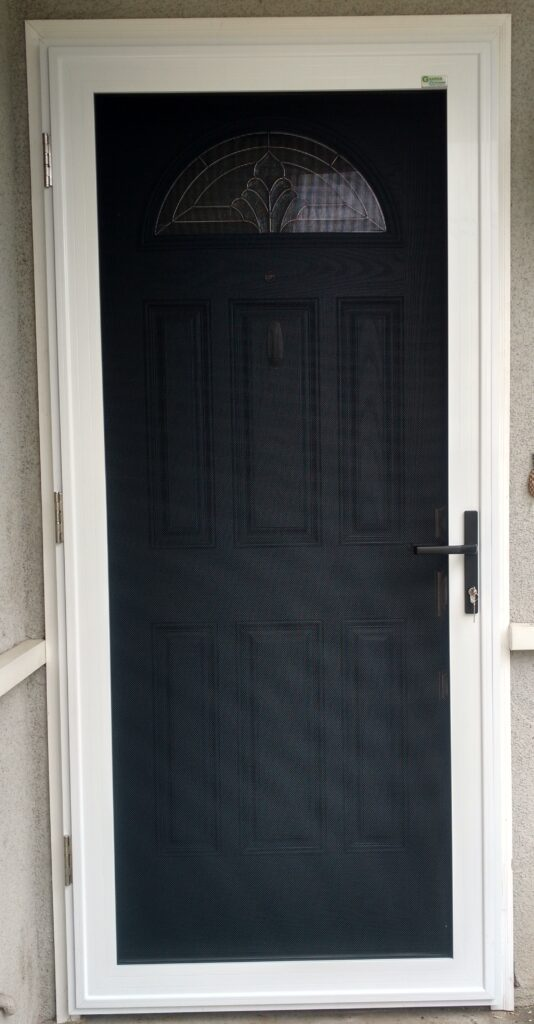 Security Screen Doors Appearance Security Budget
