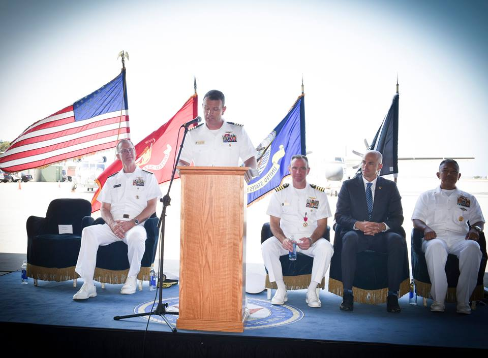 CAPT Slentz assumes command of Naval Base Coronado