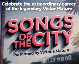 songs of the city graphic Coronado Playhouse