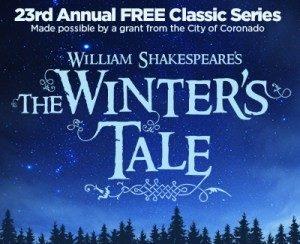 winters tale Coronado Playhouse