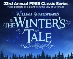 winters tale Coronado Playhouse