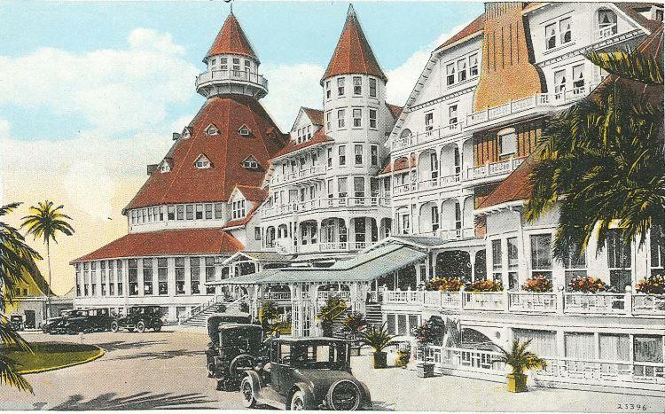 Hotel Del circa 1915