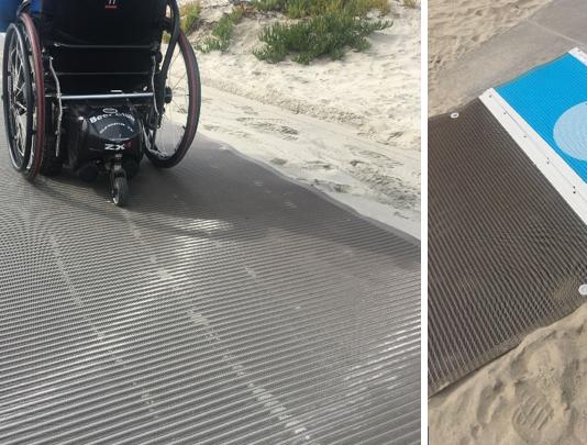 beach accessibility mats