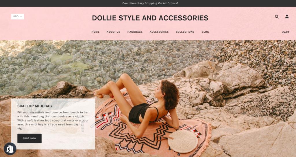 DollieStyle website