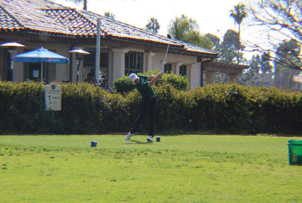 Golf: CHS Boys Take Close Loss Against Point Loma, 207-205