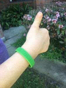 Screen Free wristband