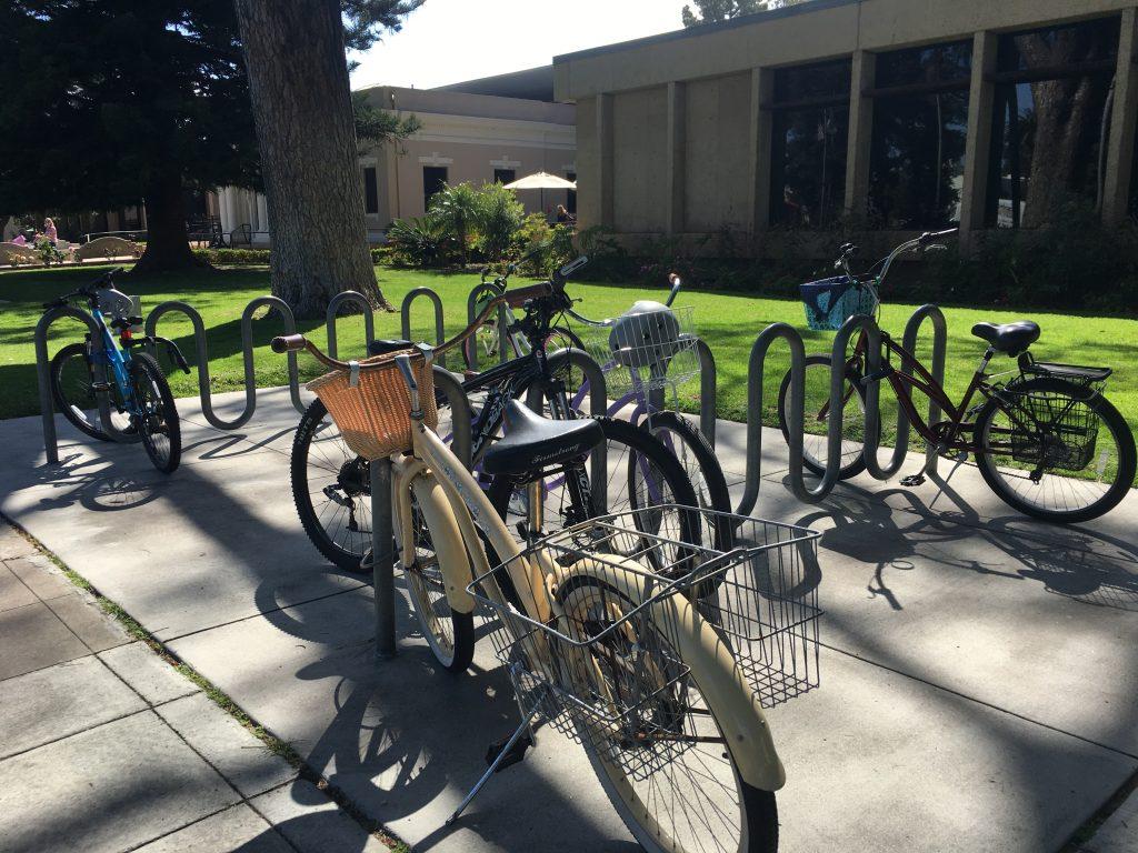 bikes at library