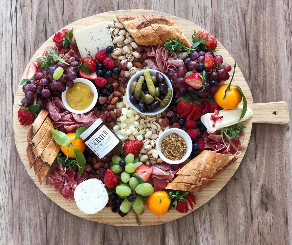 Scratch Gourmet charcuterie board