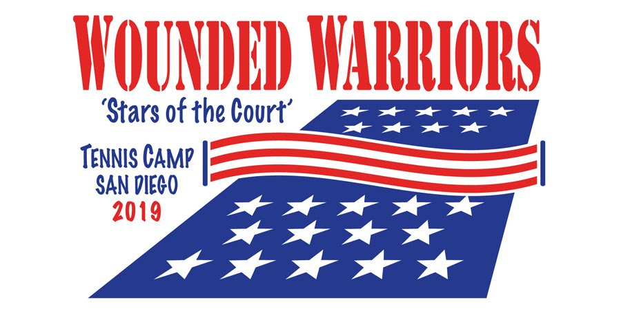 wounded warriors tennis camp 2019