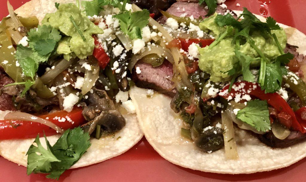 fajita tacos