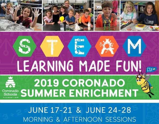 CSF summer enrichment 2019