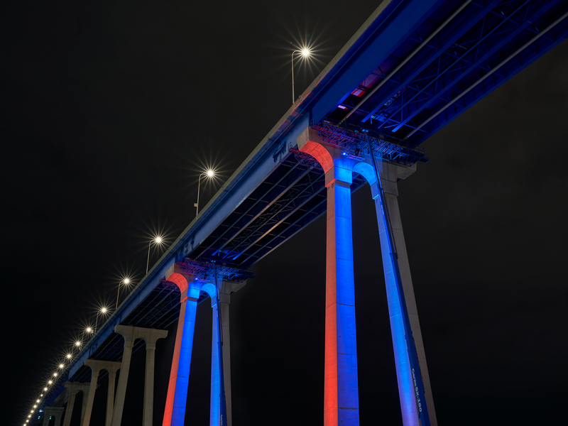 bridge light test