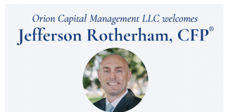 Jeff Rotherham joins Orion Capital Management