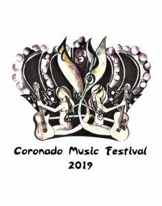 Coronado Music Festival logo