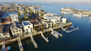 Cays Homes with Docks. Photo City of Coronado