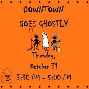 Downtown Goes Ghostly Coronado MainStreet