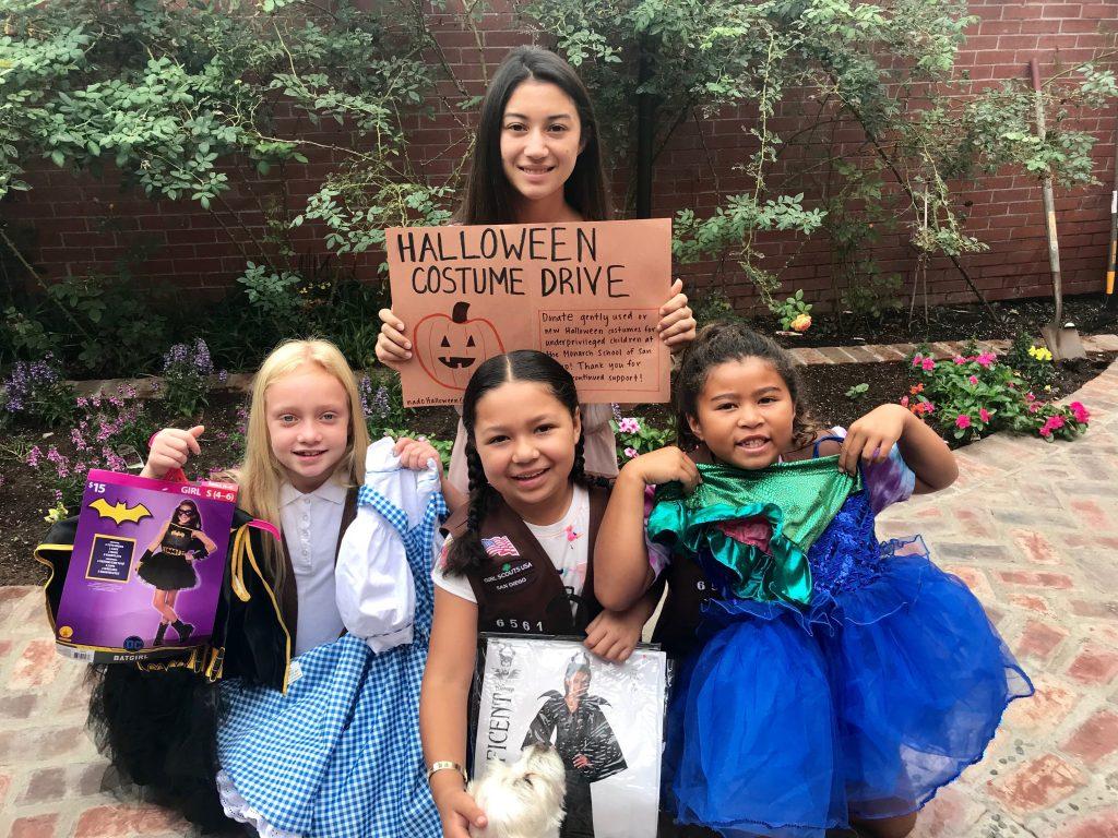 Halloween costume drive 2019