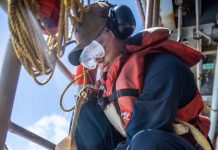 San Diego native serves aboard USS Harpers Ferry