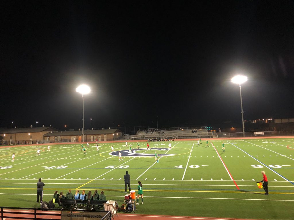 soccer at Niedermeyer Field