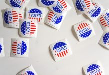 I voted stickers on Unsplash