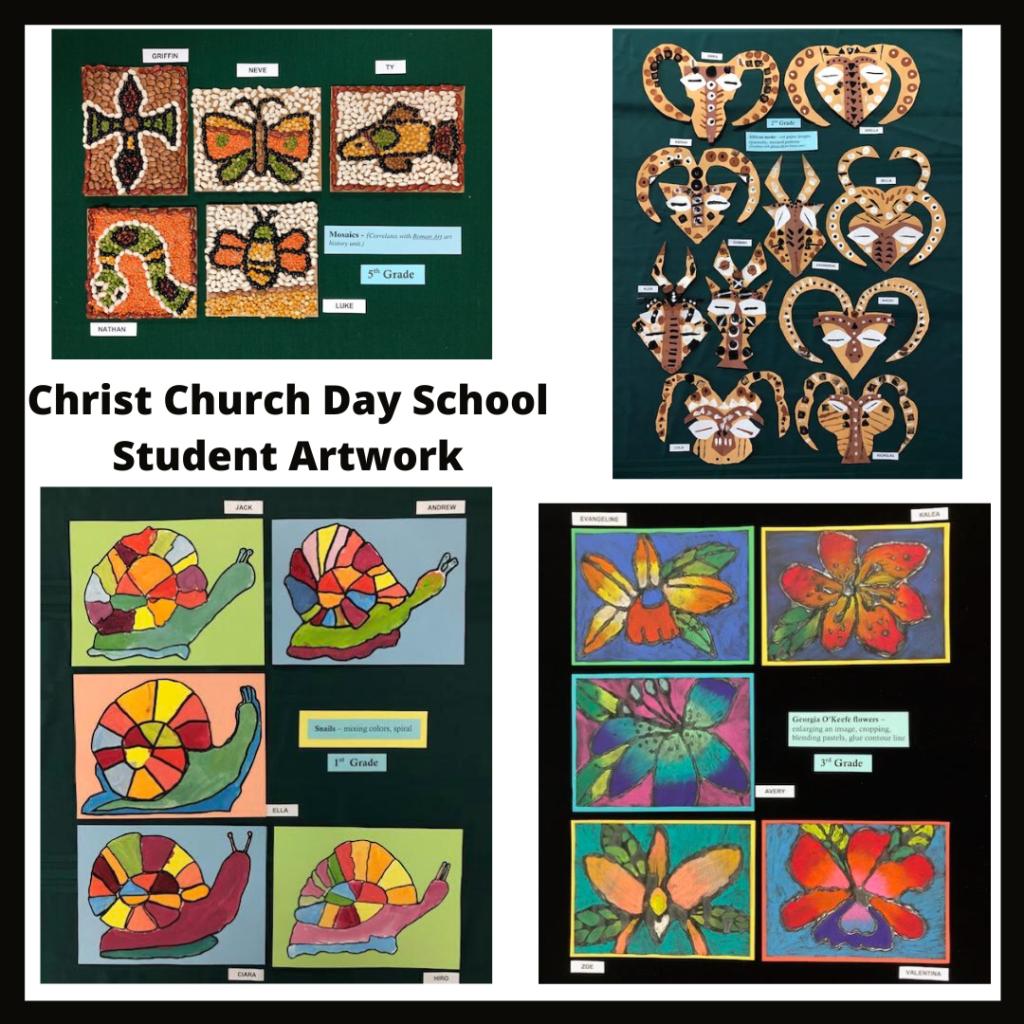 Christ Church Day School Student Artwork